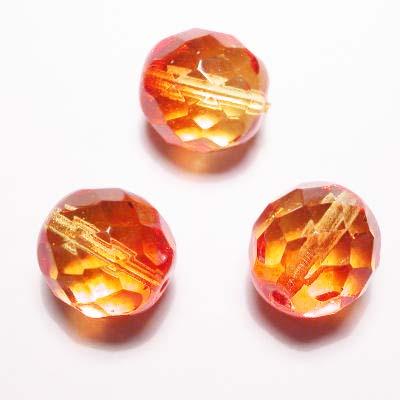 facet oranje 12 mm