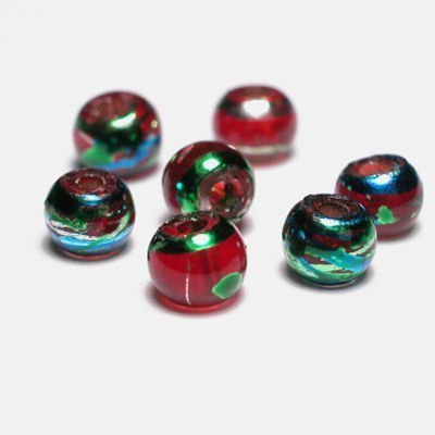 rond met streep rood 4 mm
