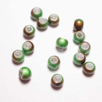 miracle bead groenbruin 4 mm