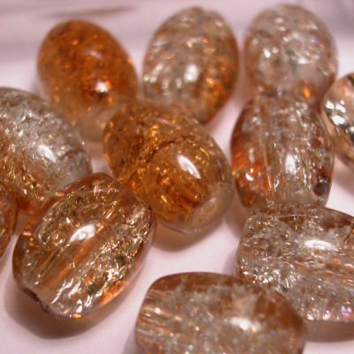 crushed beads 10x8 mm kleur 8940