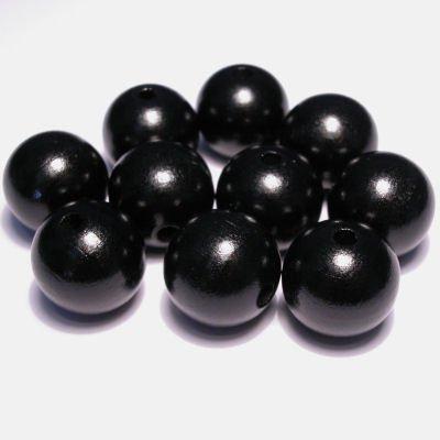 rond zwart 15 mm
