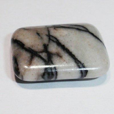 stone bead rechthoek 17 x 13 mm