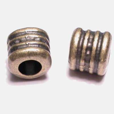 ethnic tonnetje oud goud 10 mm