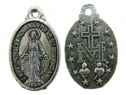 metalen hanger munt religie 13x20 mm