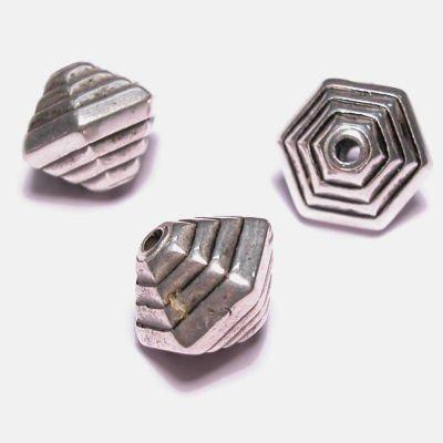 metal look kraal 9x10 mm