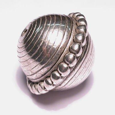 metal look kraal 19x23 mm