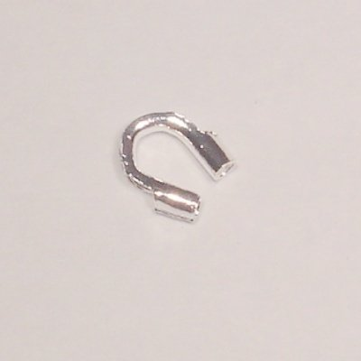 metalen wire gardian 5x4 mm zilver