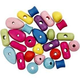 Color Beads mix 10-20 mm