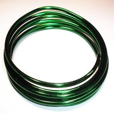 flexibelaluminiumdraadgroen3mm