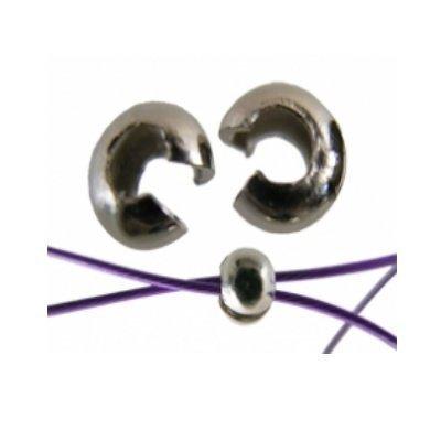 knijpkraalverbergers zilver van 2-2,5 mm