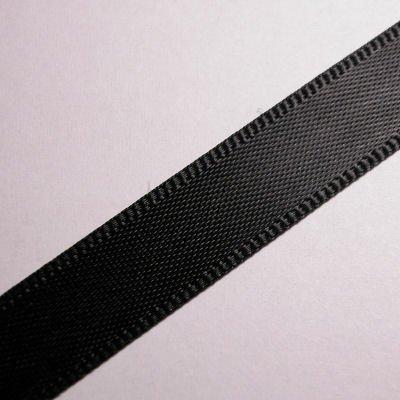 satijnlint 10 mm zwart
