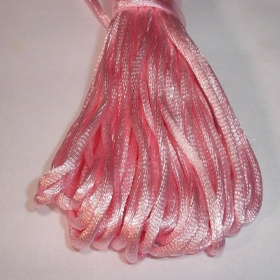 Satijnkoord, 2 mm, roze