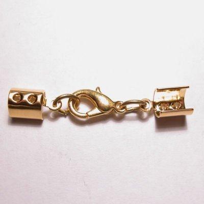 vetersluiting goud 4 mm
