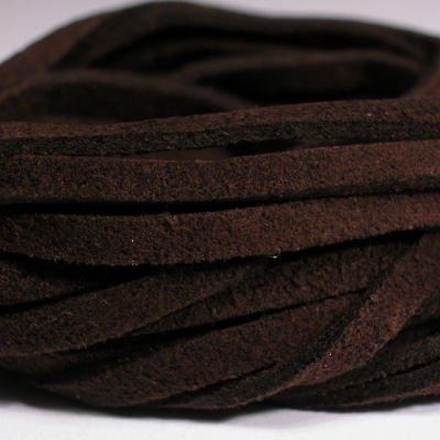 veter kunstsuede d.bruin 3 mm