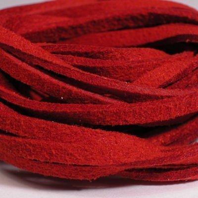 veter kunstsuede rood 3 mm
