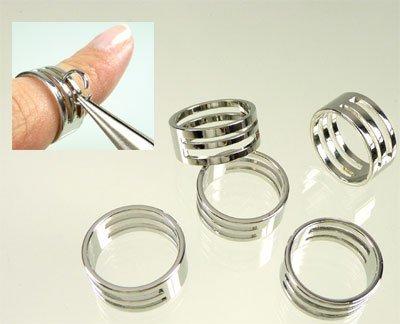 ring voor buigen van ringetjes van 19x8mm