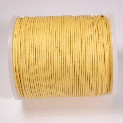 waxkoord 1mm geel