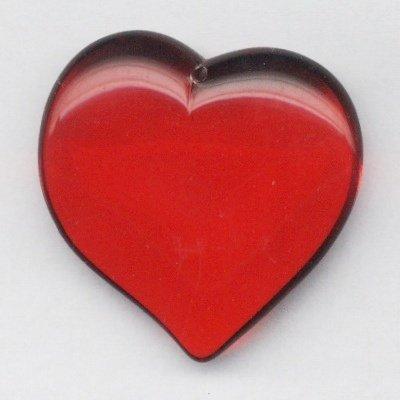 hart rood 40x40 mm