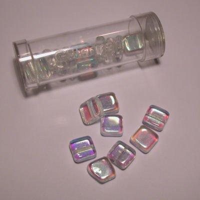 kwadraatparels 8 mm kleur 1016