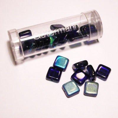 kwadraatparels 8 mm kleur 5960