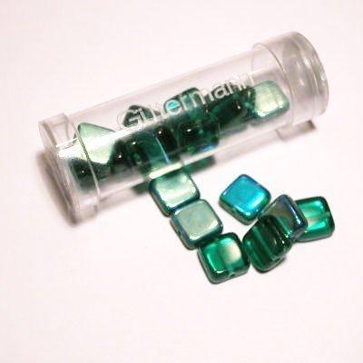 kwadraatparels 8 mm kleur 7300