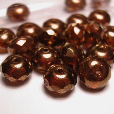 rond geslepenparels 8 mm kleur 9980