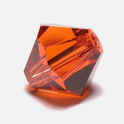 swarovski facet 4mm indian red