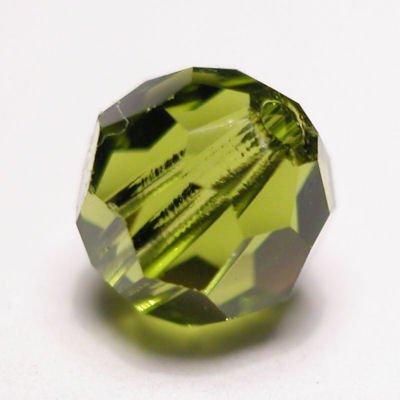 swarovski rond  4mm olivine