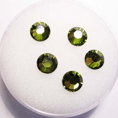 swarovski plaksteen rond olivine 6 mm