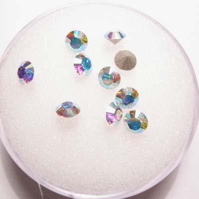 swarovski similisteen rond crystalAB 4 mm