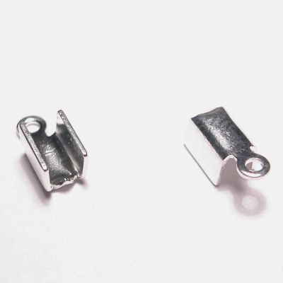 veterklemmetje zilver 5x3 mm mm