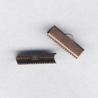 veterklem roodbrons 20x7 mm