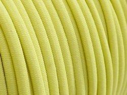 elastisch draad/stiek 3 mm geel