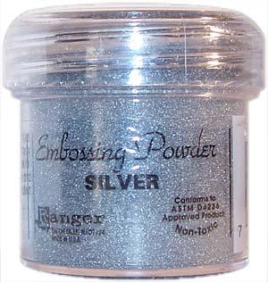 embossing poeder zilver