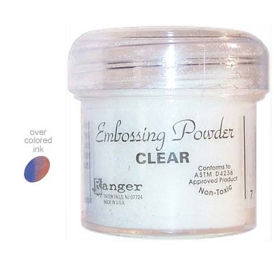 embossing poeder clear