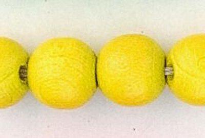 rond geel 6 mm