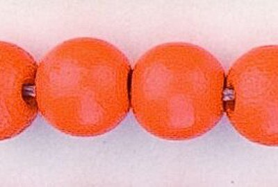 rond orange 12 mm