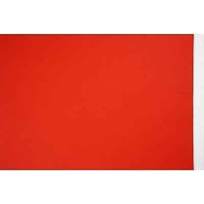 Gekleurd papier 21x30 cm rood