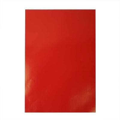 Glanspapier 32x48 cm rood