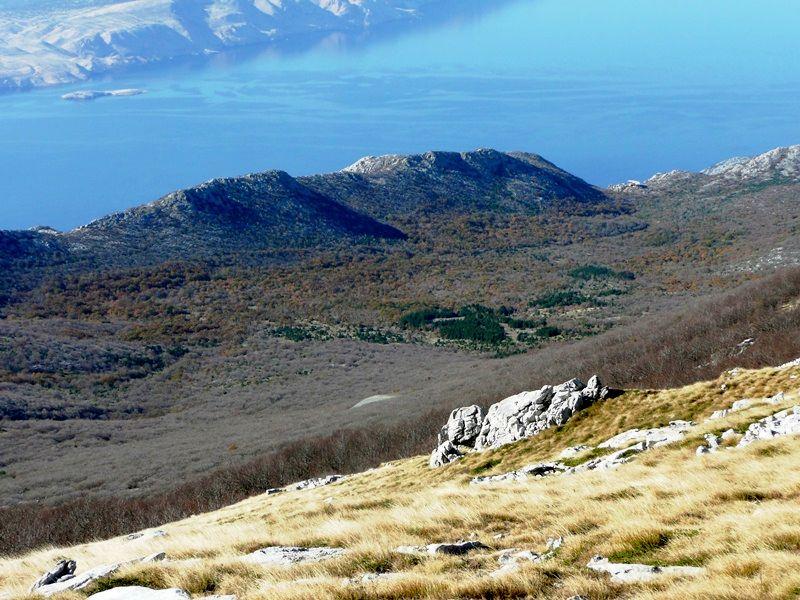 Dundović pod – pogled s Buljme (1451 m)