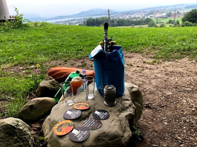 Picknick mit Craft Bier