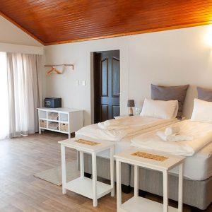 Suite mit großem Doppelbett