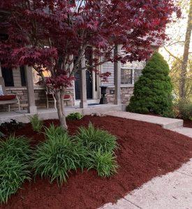 Kramer Tree Specialists Mulch Products - Red Dye Mulch