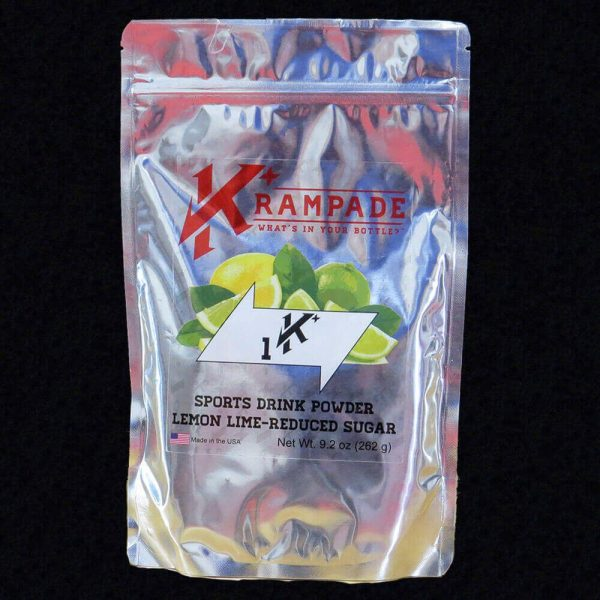 Krampade 1Krs lemon lime electrolyte replacement powdered sports drink