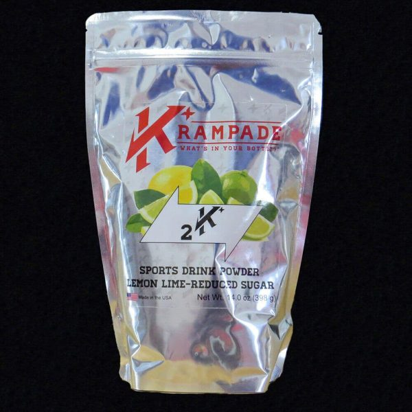 Krampade 2Krs lemon lime electrolyte replacement powdered sports drink
