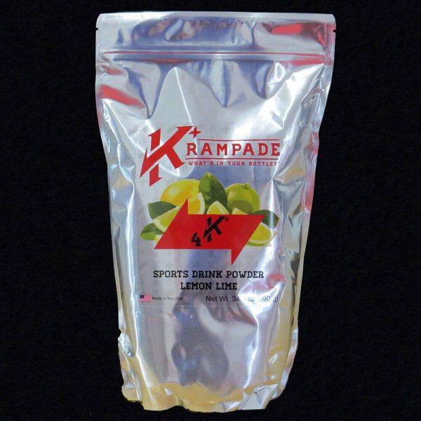 Krampade 4K lemon lime electrolyte replacement powdered sports drink