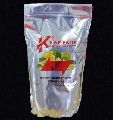 Krampade 4K lemon lime electrolyte replacement powdered sports drink