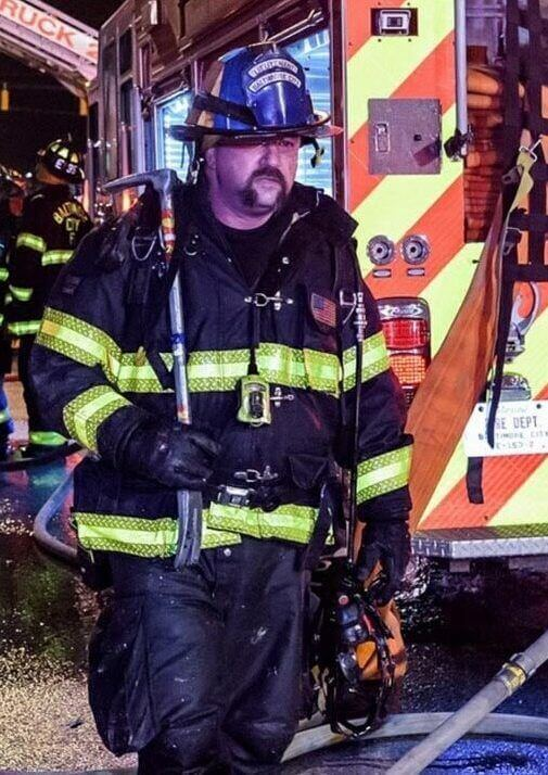 firefighter uses potassium rich sports drink to stop muscle cramps, spasms, reduce muscle fatigue, and speed his recovery