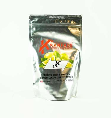 Krampade Original 1K reduced sugar lemon lime flavor, 19 serving resealable pouch, 1000 mg of potassium per serving, designed for elderly and nighttime leg and foot cramps