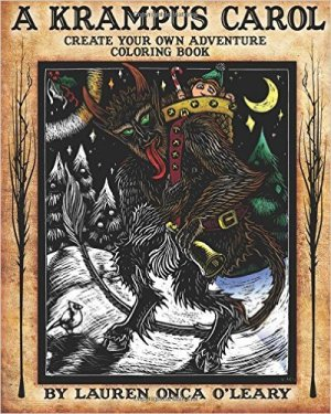 Krampus Coloring Book